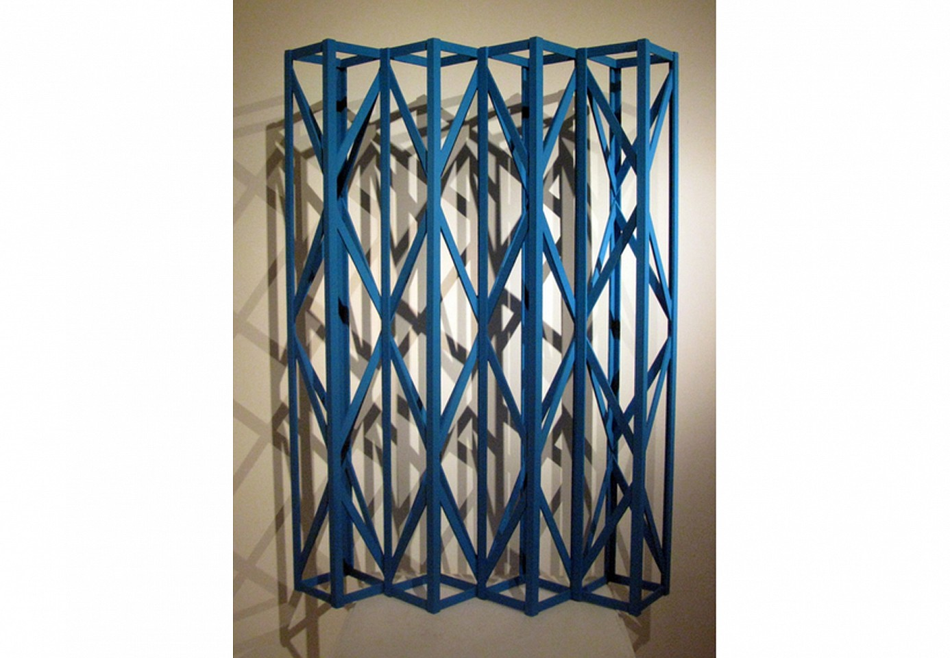 "<p><span class=""viewer-caption-artist"">Rasheed Araeen</span></p> <p><span class=""viewer-caption-title""><i>Summer Blue</i></span>, <span class=""viewer-caption-year"">1985-2014</span></p> <p><span class=""viewer-caption-media"">Painted wood</span></p> <p><span class=""viewer-caption-dimensions"">77 x 56 x 15 cm (30 5/16 x 22 x 5 7/8 in.)</span></p> <p><span class=""viewer-caption-inventory"">RAA0000</span></p> <p><span class=""viewer-caption-aux""></span></p>"